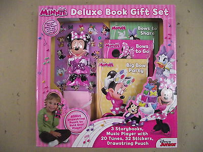 Minnie Deluxe Book Gift Set! FREE DELIVERY!