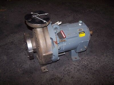 Durco Flowserve Lh 3X2-10A/7.13 Stainless Steel Magnetic Drive Pump Cf8M D4