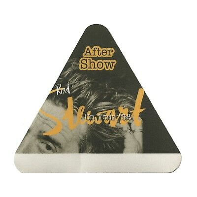 Rod Stewart authentic Aftershow 1998 tour Backstage Pass
