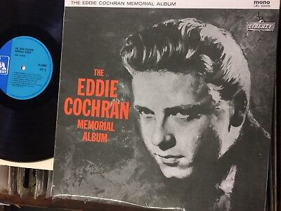 "Eddie Cochran""memorial Album"".1968 Liberty Solid Mono Version.excellent Example!"