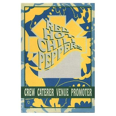 Red Hot Chili Peppers authentic Crew 1999-2000 tour Backstage Pass