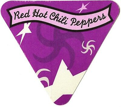 Red Hot Chili Peppers authentic Triangle 1995-1996 tour Backstage Pass