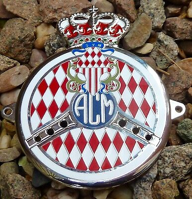 Automobile Club Monaco Car Grille Badge  - Rolls Royce Bentley Jaguar Porsche