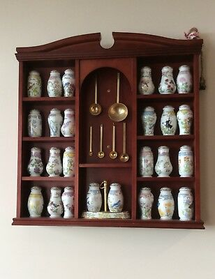 Spice Rack and Jars