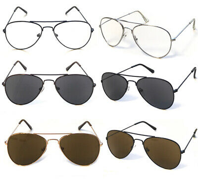 R293 Unisex Metal Aviator Sun Reader/Reading Glasses/Classic Stylish Small Shape