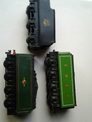 Triang Hornby Flying Scotsman Tenders and early princess tender