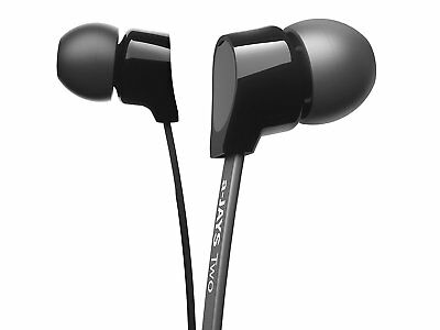 Jays a-Jays T00073 Two Heavy bass Earphones - Black