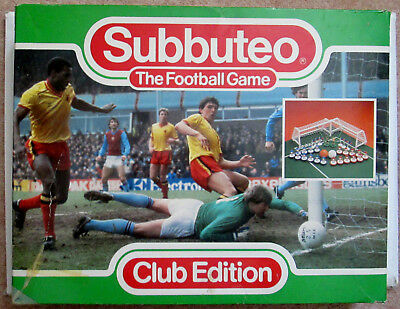 Subbuteo Football Game + Extra Teams and Accessories