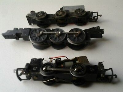 Triang Hornby Chassis 0 4 0, Spam Can,  0 6 0 All Sold As Spares Or Repairs