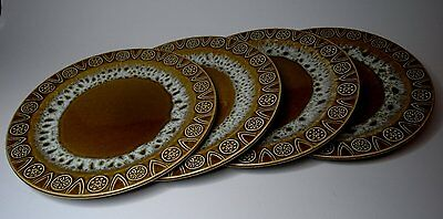 Four Vintage/Retro Handcrafted British Concorde Astra Crown Ducal Plates