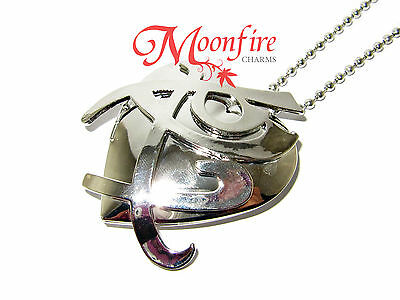 The Mortal Instruments Fearless Rune Heart Locket Pendant Necklace Shadowhunter