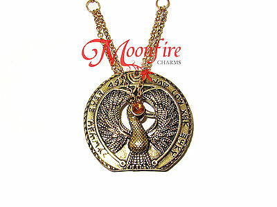 Indiana Jones Headpiece To The Staff Of Ra Pendant Necklace Amazing Details!!!