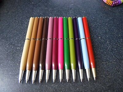 "12 Colors Stocking Stuffer Coach 4"" Journal Pens Choice Of 1 Pen Per Purchase"