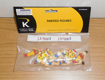 K-Line Lionel 6-21324 Ringling Bros Circus Acrobats Clown Figures O Scale Train