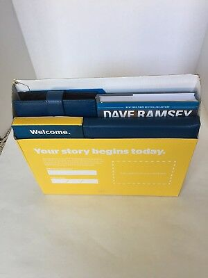 Dave Ramsey's Financial Peace University Membership Kit  Unused Missing Workbook
