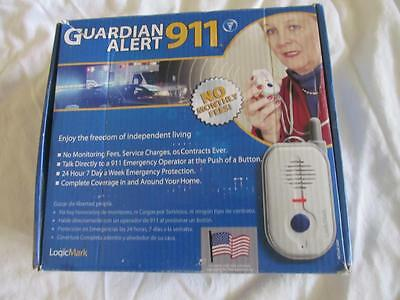 Logic Mark Guardian Alert 911 System 30511 No Contracts No Fees