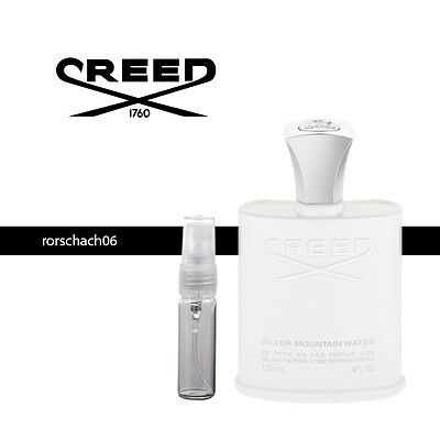 Creed Silver Mountain Water 10ml Sample EDP 100% Genuine Free Delivery