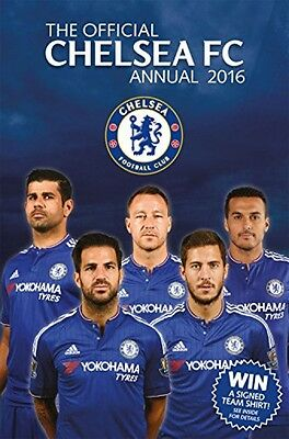 The Official Chelsea FC Annual 2016 (Annuals 2016)            (Hardcover)