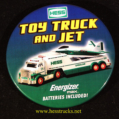 2010 Hess Truck Pin Back Button