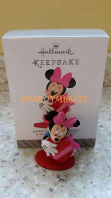 2015 Hallmark Sweets for the Sweet Minnie Mouse A Year of Disney Magic Ornament