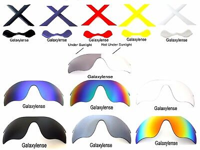 Galaxy Replacement Lenses For Oakley Radarlock Path Sunglasses Multi-Selection