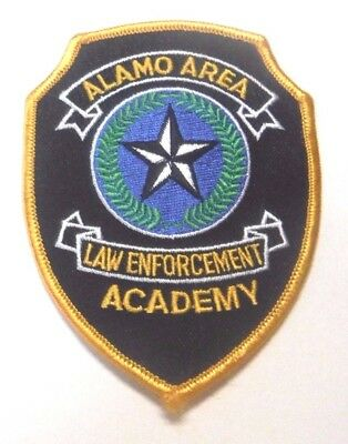 Alamo Area Law Enforcement Academy San Antonio Texas Patch Unused