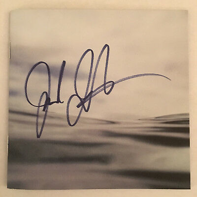 JACK JOHNSON All the Light Above It Too CD Booklet AUTOGRAPH SIGNED