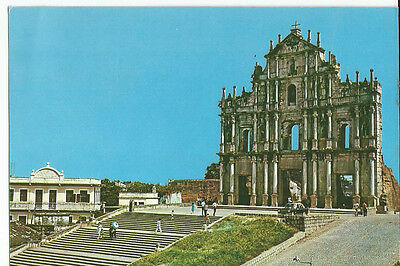 Postcard From Macao, China, The Ruins Of St Paul's, Unused