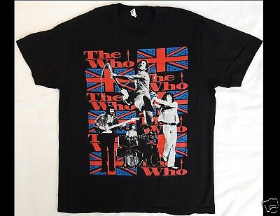 THE WHO Size Large Black T-Shirt