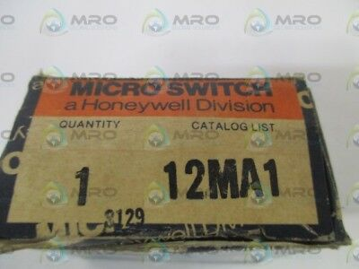 Microswitch 12Ma1 Accessory (Missing Pushbutton) *new In Box*