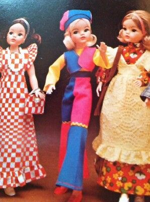 Pedigree Sindy doll 1974 catalogue; Archive copy 11 x A4 full colour top pop