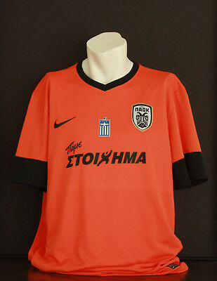 PAOK Saloniki Trikot Football Jersey Greece Rarität Rare