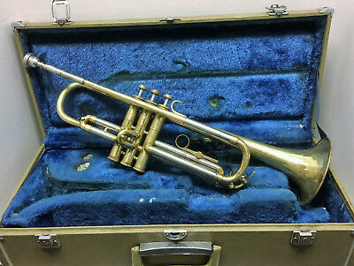 Early older Yamaha YTR-232 Brass Trumpet low Serial # 0030XX