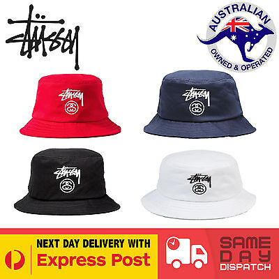 NEW Stussy Bucket Hat | Cap Skate Surf | AUS SELLER