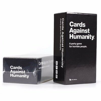 Cards Against Humanity UK edition Full Base Box Set Pack Party Game 550 Card