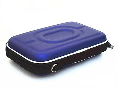 2.5 inch Mobile External Hard Disk Drive HDD Carry Case Cover - purple