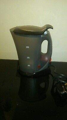 TRAVEL KETTLE / 0.5L  / Jug kettle /   WITH 4 CUPS  / NEW / free mugs / holidays