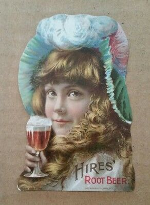 Hires Root Beer Trade Card,1890's