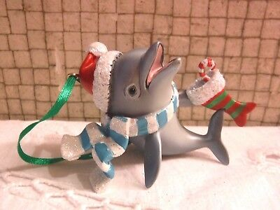Danbury Mint DOLPHIN Baby Animals Christmas Ornament with Tag