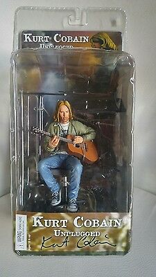 """Action figure Kurt Cobain """"Unplugged in New York""""special"""