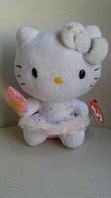 TY Beanie Babies Hello Kitty Plush Fairy Approximately 6""