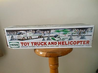 2006 Hess Gasoline Toy Truck And Helicopter New In Box Unused