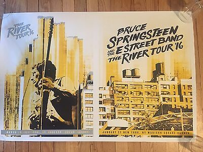 Bruce Springsteen River Tour NYC MSG uncut 2 night, rare