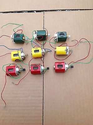 Vintage 9 Piece 1/24 Scale Motor Group / New Old / Royal Bobcat / Untested!!!!