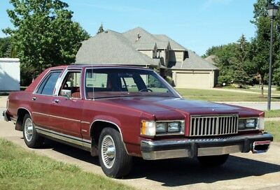 "1984 Mercury Grand Marquis  1984 Mercury Grand Marquis 77,394+ Orig. Miles Sold by Second Owner ""Land Yacht"""