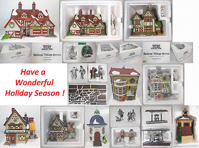 "Dept 56 ""build Your Display"", Items Of Your Choice, Dickens', North Pole, Etc."
