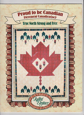 Quilt Pattern Proud to be Canadian Love of Country