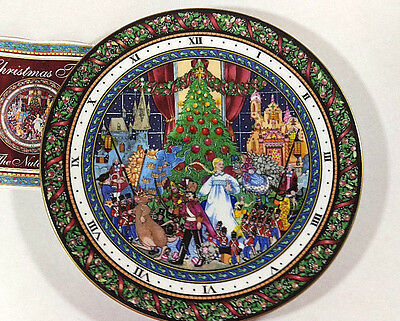 """Royal Worcester Christmas Tales THE NUTCRACKER 8.25"""" Plate 1993 1st In Series"""