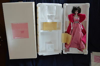 Vintage LTD ED Barbie Porcelain Collection Sophisticated Lady 1965 MIB COA#00906