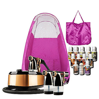 Maximist Allure Xena SprayTan Kit with Pink Tent and Tampa Bay Tan Solution